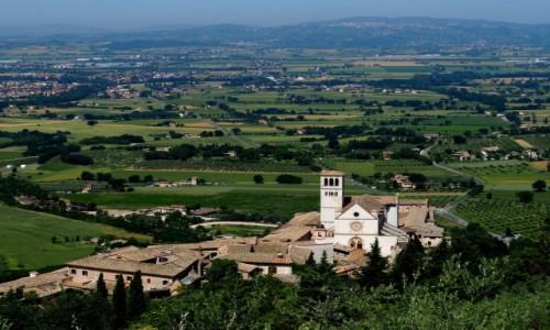 W�OCHY / Umbria / okolice Asy�u / Dolina Umbryjska