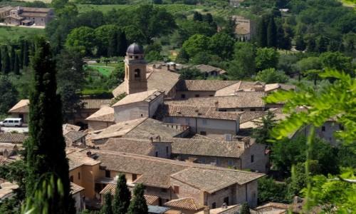 Zdjęcie WłOCHY / Umbria / Asyż / Asyż z góry