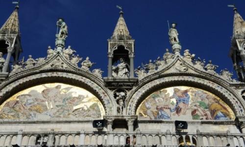 Zdjęcie WłOCHY / Wenecja Euganejska / Wenecja  / Bazylika św. Marka, detale dekoracyjne