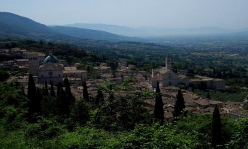 Zdjecie WłOCHY / Umbria / Asyż / Asyż z góry