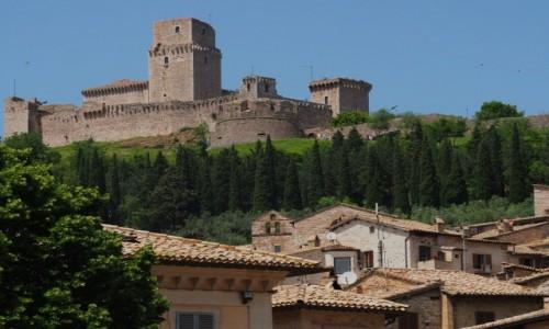 Zdjęcie WłOCHY / Umbria / Asyż / Twierdza Rocca Maggiore