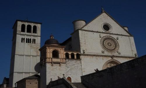 Zdjęcie WłOCHY / Umbria / Asyż / Bazylika św. Franciszka