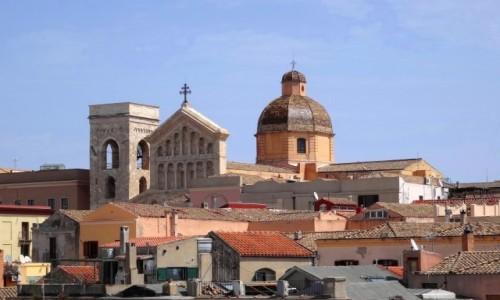 Zdj�cie W�OCHY / Sardynia / stolica Sardynii / Spacer po Cagliari - katedra