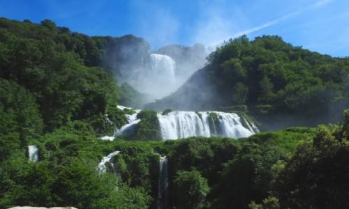 W�OCHY / Umbria / Treni / Marmurowe wodospady