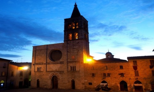 Zdjecie W�OCHY / Umbria / Bevagna / Bevagna wieczor