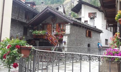 Zdjecie W�OCHY / Aosta / Gressoney Saint-Jean / Urokliwy pensjo