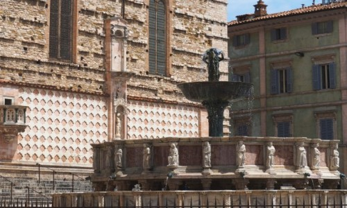 Zdjecie W�OCHY / Umbria / Perugia / Fontanna Maggio