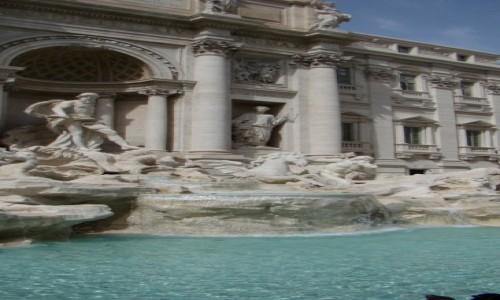 Zdjecie W�OCHY / Rzym / Rzym / Fontanna di Tre