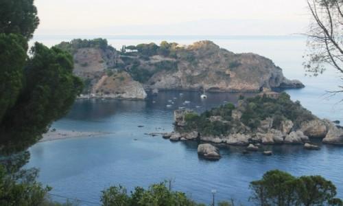 Zdjecie WłOCHY / SYCYLIA / Taormina / Rezerwat przyrody Isola Bella