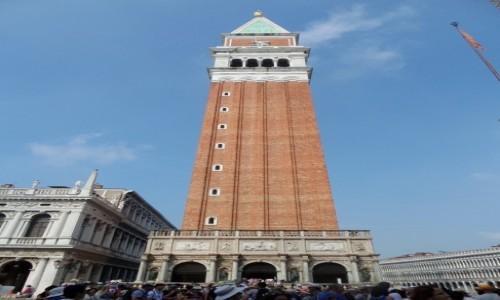 Zdjęcie WłOCHY / - / Wenecja / Dzwonnica Św. Marka