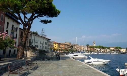 Zdjęcie WłOCHY / Północne Włochy / Jezioro Garda / Nabrzeże
