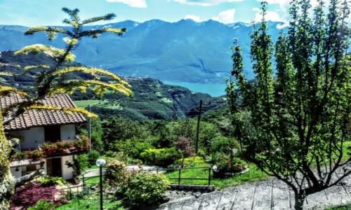 Zdjecie W�OCHY / Nad jeziorem / Garda / W dali, jezioro