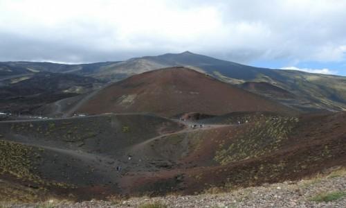 Zdjecie W�OCHY / Sycylia / Etna / Na stoku Etny