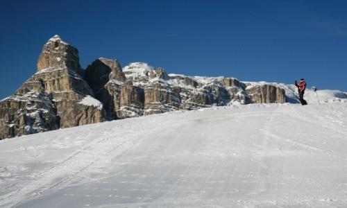 Zdjecie W�OCHY / Dolomity / Alta Badia / Na stoku