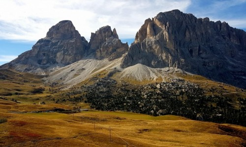 W�OCHY / Trento / Passo Sella / Passo Sella- Dolomity