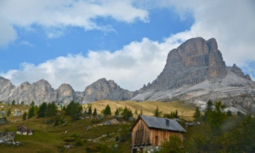 Zdjecie WłOCHY / Trento / Passo Giau / Dolomity