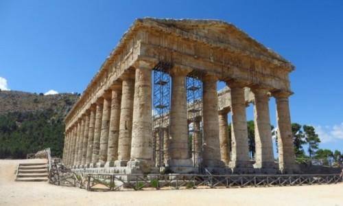 Zdjęcie WłOCHY / Sycylia / Segesta / świątynia grecka
