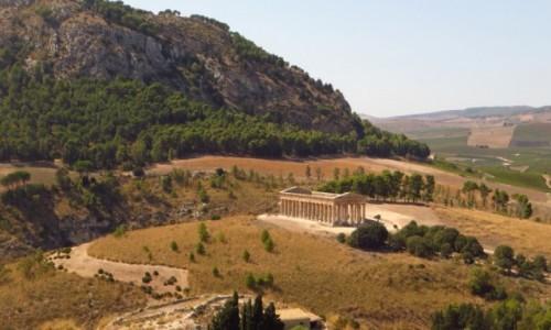 W�OCHY / Sycylia / Segesta / panorama