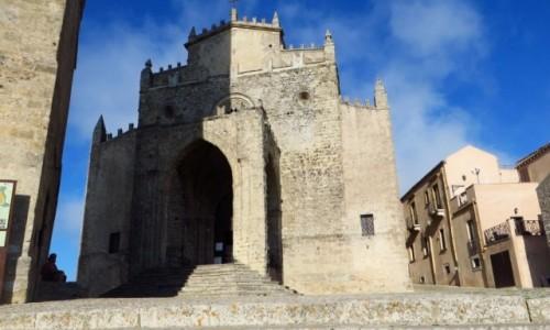 Zdjęcie WłOCHY / Sycylia / Erice / katedra