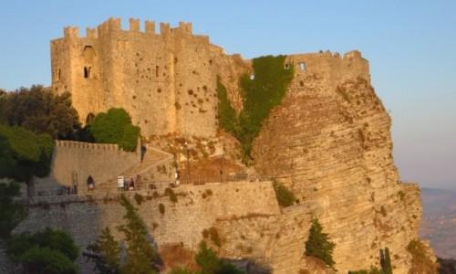 Zdjecie W�OCHY / Sycylia / Erice / Castello di Ven