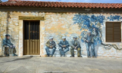 W�OCHY / Sardynia / Palau / Palau murale