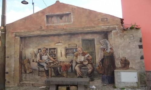 W�OCHY / Sardynia / Tinnura / Dla wielbicieli murali