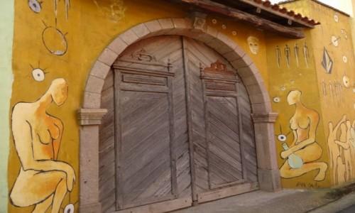 W�OCHY / Sardynia / San Sperato / Dla wielbicieli murali - drzwi