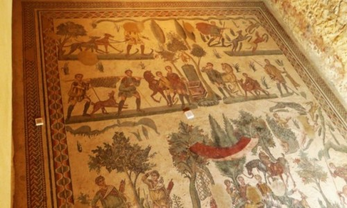 Zdjecie W�OCHY / Sycylia / Villa del Casale / mozaiki