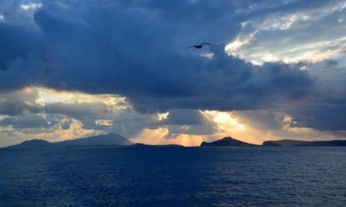 W�OCHY / Neapil / okolice Capri / Zmierzch