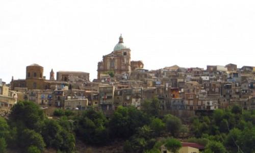 Zdjecie W�OCHY / Sycylia / Piazza Armenina / panorama miasta