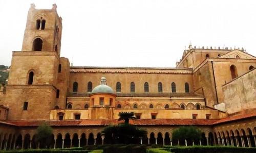 Zdjecie W�OCHY / Sycylia / Monreale / katedra widok z