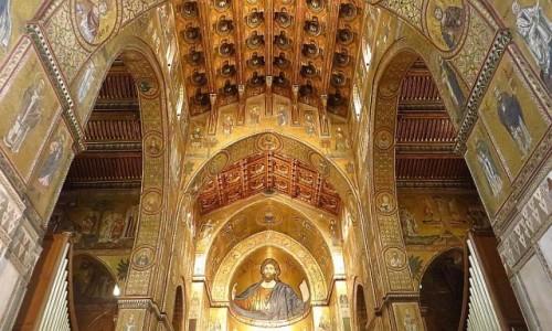 Zdjecie WłOCHY / Sycylia / Monreale / katedra
