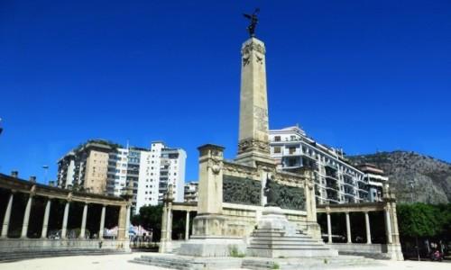 Zdjecie W�OCHY / Sycylia / Palermo / pomnik Wolno�ci