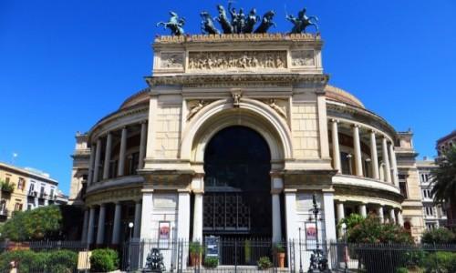 Zdjecie W�OCHY / Sycylia / Palermo / teatr Politeama