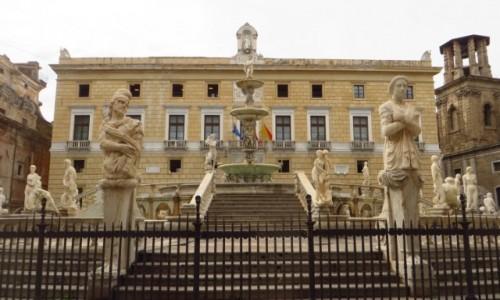 Zdjecie W�OCHY / Sycylia / Palermo / Piazza Pretoria