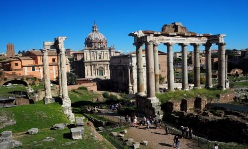 Zdjęcie WłOCHY / Lacjum / Rzym / Forum Romanum