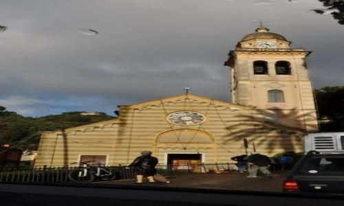 Zdjęcie WłOCHY / Liguria / Portofino / Portofino, kościół