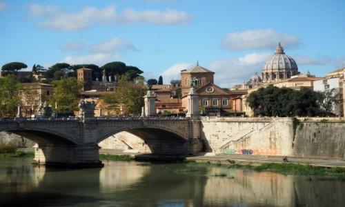 Zdjęcie WłOCHY / Lacjum / Rzym / Tyber