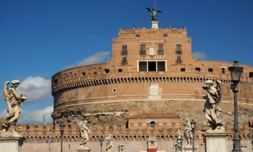 Zdjęcie WłOCHY / Lacjum / Rzym / Zamek Świętego Anioła