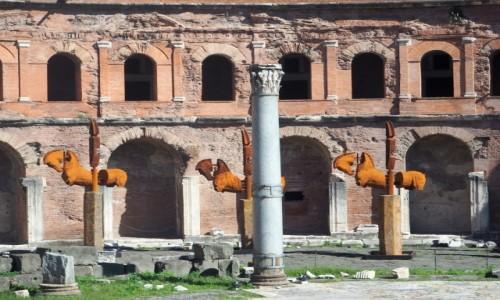 Zdjęcie WłOCHY / Lacjum / Rzym / Forum Trajana