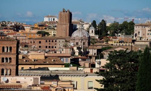 Zdjęcie WłOCHY / Lacjum / Rzym / Z jednego z siedmiu wzgórz...