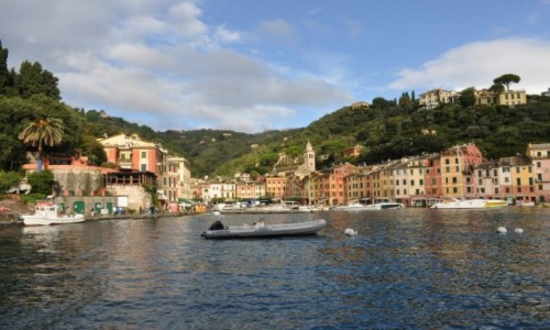WłOCHY / Liguria / Portofino / Portofino-pożegnanie
