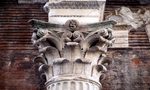 Zdjęcie WłOCHY / Lacjum / Rzym / na tyłach panteonu...