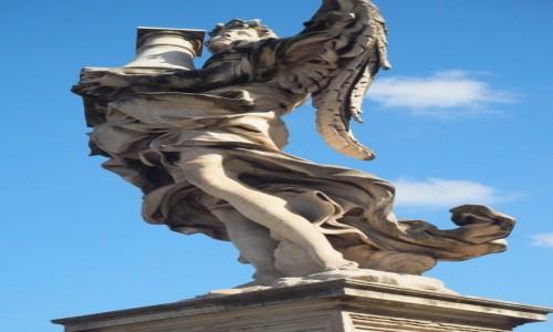 Zdjęcie WłOCHY / Lacjum / Rzym / most Świętego Anioła
