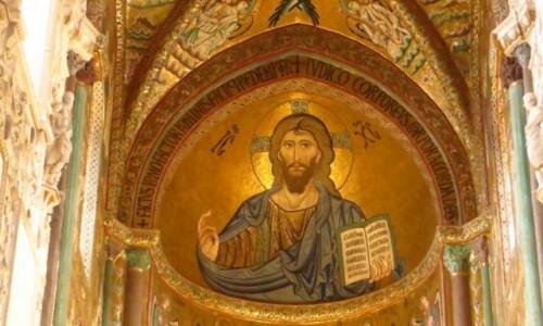 Zdjęcie WłOCHY / Sycylia / Cefalu / katedra
