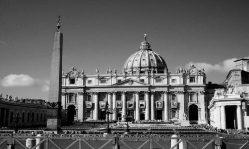 Zdjęcie WłOCHY / Lacjum / Watykan / Bazylika św. Piotra