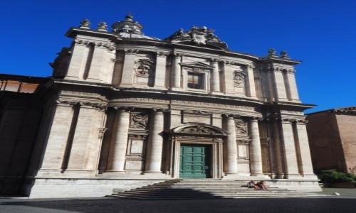 Zdjęcie WłOCHY / Lacjum / Rzym / Kościół św. Łukasza i  św. Marcina