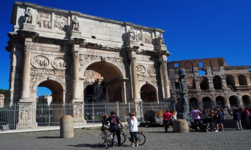 Zdjęcie WłOCHY / Lacjum / Rzym / Łuk Konstantyna Wielkiego