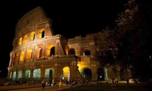 Zdjęcie WłOCHY / Lacjum / Rzym / Rzym nocą