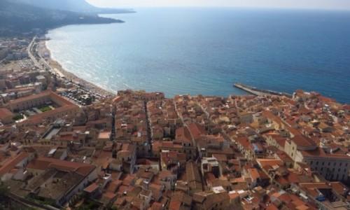 Zdjęcie WłOCHY / Sycylia / Cefalu / panorama miasta